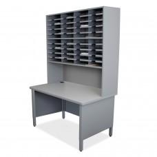 40 Slot Mailroom Organizer, Riser
