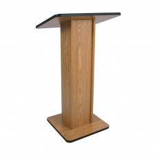 Elite Lectern - Non Sound - Oak