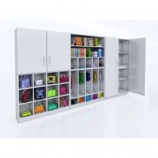 Whitney White Wall Storage System
