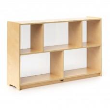 "30"" Preschool Storage Cabinet Acrylic Bk"