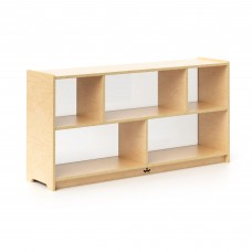 """24"""" Storage Cabinet Acrylic Back"""