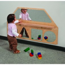 Wall Mirror Shapes With Pull-Up Bar