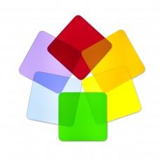 Light Table 6 Square Disks