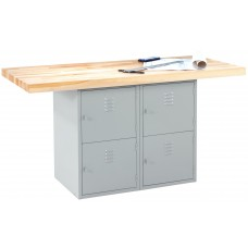 2-Station Workbench With Vises