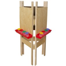 3-Sided Adjustable Easel with Plywood