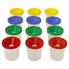 Paint Cups - Set of Twelve
