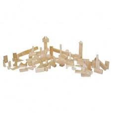 Nursery Blocks - 17 Shapes, 93 Pieces