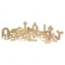 Preschool Blocks - 24 Shapes, 111 Pieces