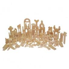 Classroom Blocks - 24 Shapes, 372 Pieces