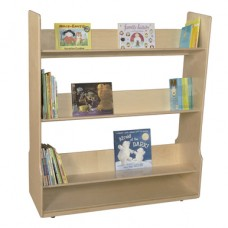 Mobile Book Display Cart
