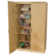 Space Saving Resource Cabinet