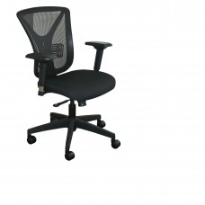 Executive Mesh Chair with Black Fabric only and Black Base