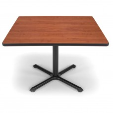 "OFM Square Multi-Purpose Table, 42"", Cherry"