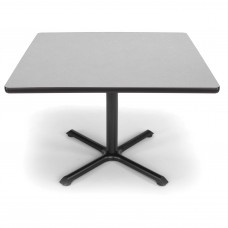 "OFM Square Multi-Purpose Table, 42"", Gray Nebula"