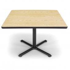 "OFM Square Multi-Purpose Table, 42"", Oak"