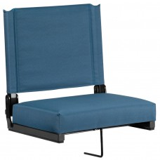 Grandstand Comfort Seats by Flash with Ultra-Padded Seat in Teal [XU-STA-GN-GG]