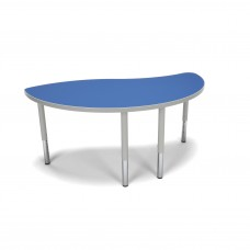 OFM Adapt Series Ying Student Table - 18-26″ Height Adjustable Desk, Blue (YING-SL)