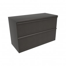 Zapf Two Drawer Lateral File, 30W x 19D x 28H - Putty Finish